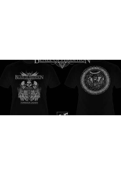 "BLAZE OF PERDITION ""Towards Death""-malignant voices-t-shirt L"