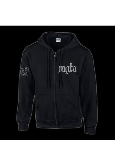 """MGLA """"LOGO"""" zipper hoodie XL"""