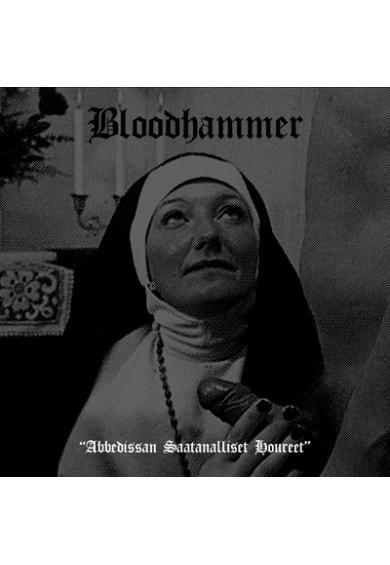 """BLOODHAMMER """"Abbedissan Saatanalliset Houreet"""" cd"""