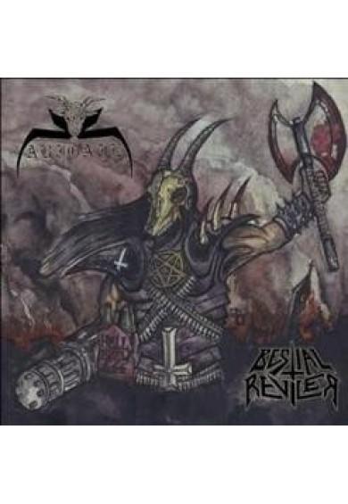 """ABIGAIL / BESTIAL REVILER """"split"""" cd"""