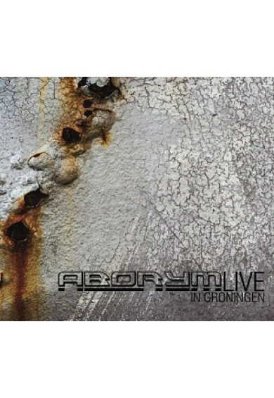 "ABORYM ""live in Groningen"" cd"