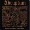 """ABRUPTUM """"De Profundis Mors Vas Cousumet"""" mCD"""