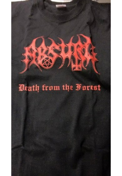 "ABSURD ""death from the forest""-t-shirt M"