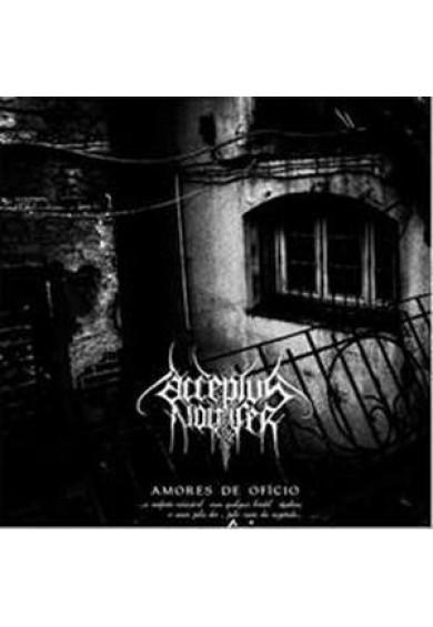 """ACCEPTUS NOCTIFER """"amores de oficio"""" cd"""