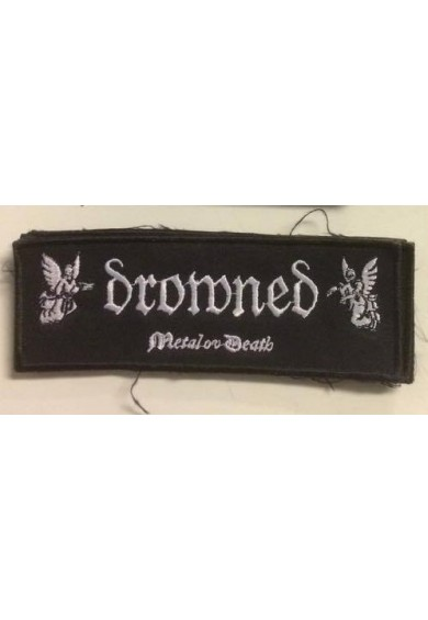 DROWNED logo patch