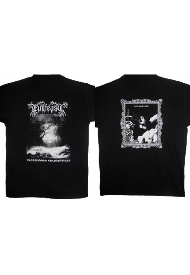 "EVILFEAST ""Wintermoon enchantment"" t-shirt L"