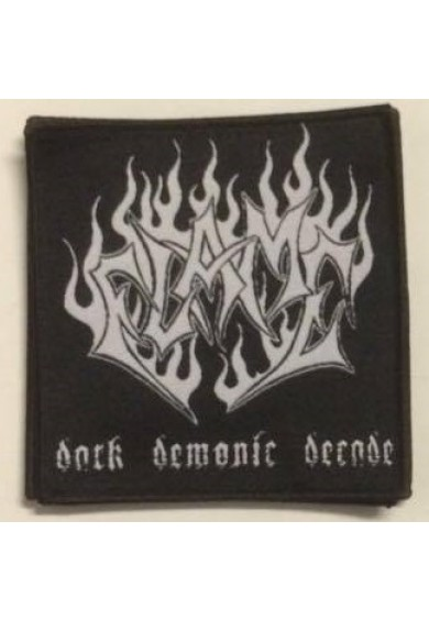 FLAME logo patch