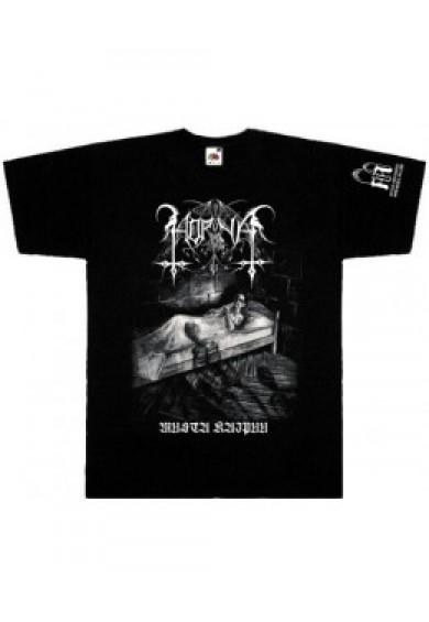 HORNA - Musta Kaipuu -t-shirt L