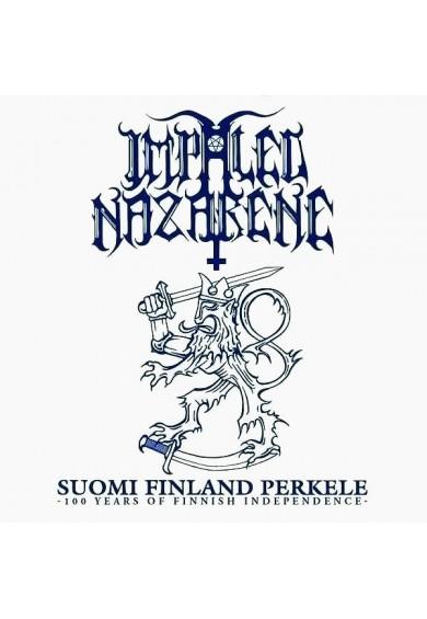 """IMPALED NAZARENE """"suomi finland perkele -100 years"""" digipak cd"""