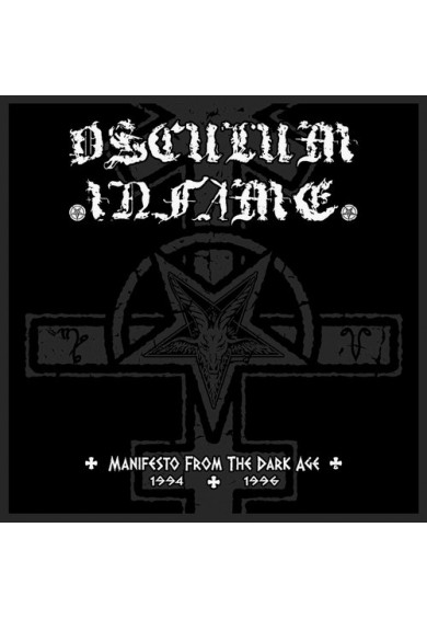 """Osculum Infame """"Manifesto From The Dark Age"""" cd"""