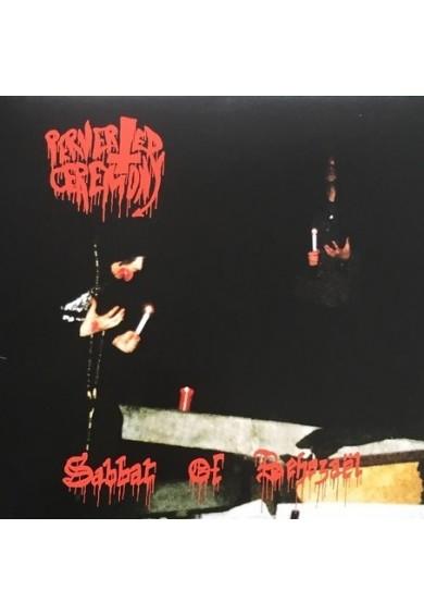 """Perverted Ceremony """"Sabbat of Behezaël"""" LP splatter vinyl"""