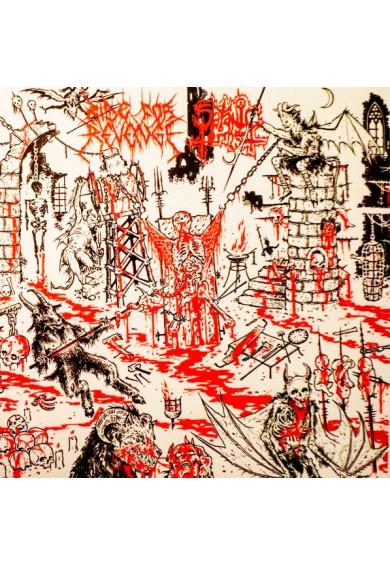"""Ride For Revenge / Satanic Torment  split 7"""""""