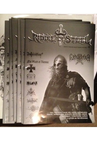 RIDDLE OF STEEL #6 zine