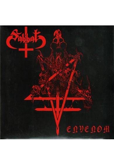 """SABBAT """"Envenom"""" digipak CD"""