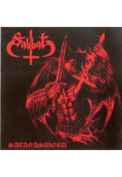"""SABBAT """"Satanasword"""" cd"""