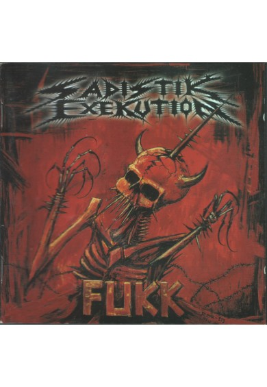 "Sadistik Exekution ""Fukk"" cd"