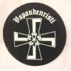 VAPAUDENRISTI logo -patch