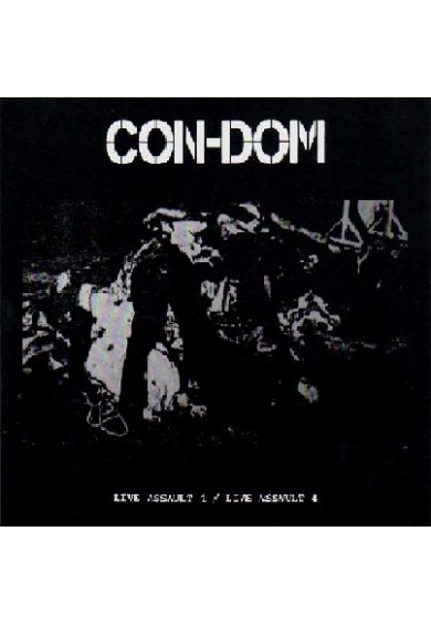"CON-DOM ""Live Action 1/4"" cd"