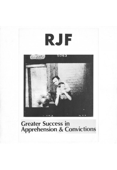 "RJF ‎""Greater Success In Apprehension & Convictions"" cd"