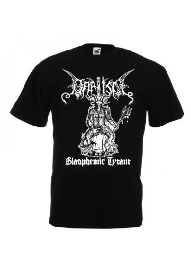 "BAPTISM ""blasphemic tyrant""-northern heritage-t-shirt S"