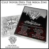 CULT NEVER DIES THE MEGA ZINE book with CD