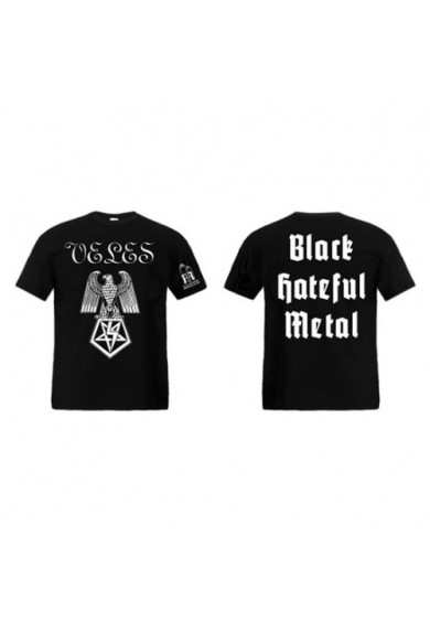 "VELES ""Black Hateful Metal"" t-shirt S"
