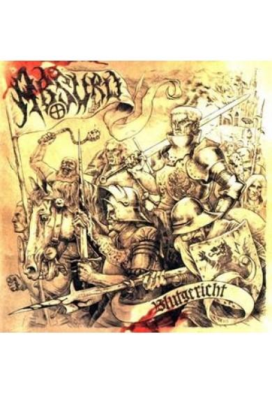 """ABSURD """"Blutgereicht"""" cd"""