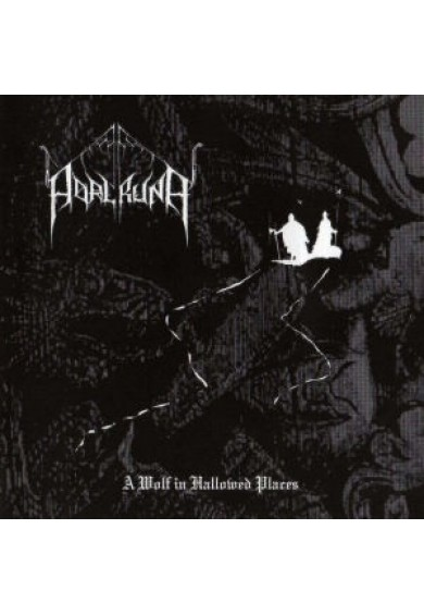 "ADALRUNA ""A wolf in hallowed places"" cd"