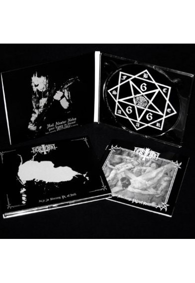 """BEASTCRAFT """"Into The Burning Pit Of Hell"""" digi CD"""