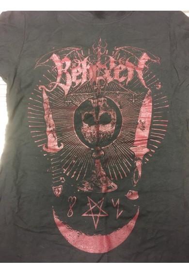 """BEHEXEN """"skull chalice""""-t-shirt GIRLIE M"""