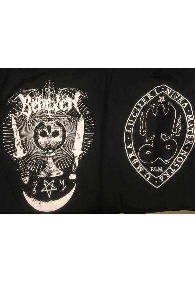 "BEHEXEN ""skull chalice""-t-shirt M"