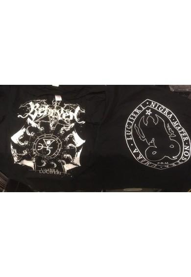 """BEHEXEN """"umbra luciferi""""-t-shirt M"""