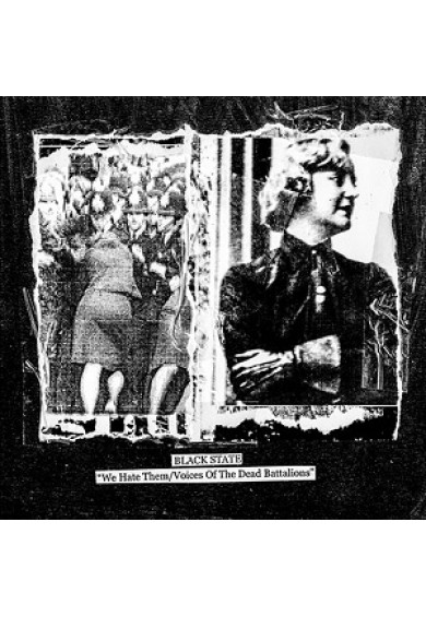 "Black State ""We Hate Them/Voices Of The Dead Battalions"" CD"