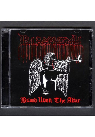"BLASPHEMY ""Blood Upon the Altar"" cd (with bonus)"