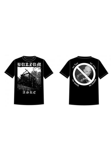 """BURZUM """"Aske"""" t-shirt S"""