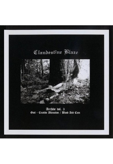"CLANDESTINE BLAZE ""Archive vol. 3"" CD"
