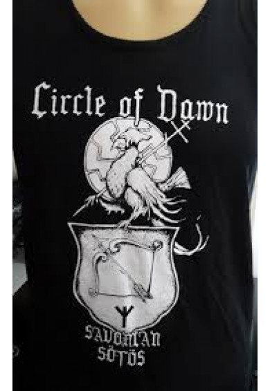 "CIRCLE OF DAWN ""savonian sötös"" t-shirt XXL"