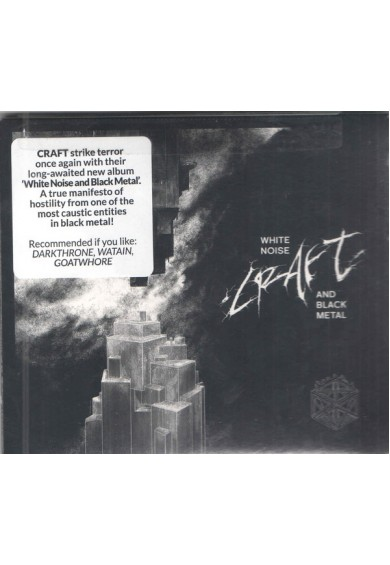 "Craft ""White Noise And Black Metal "" cd"