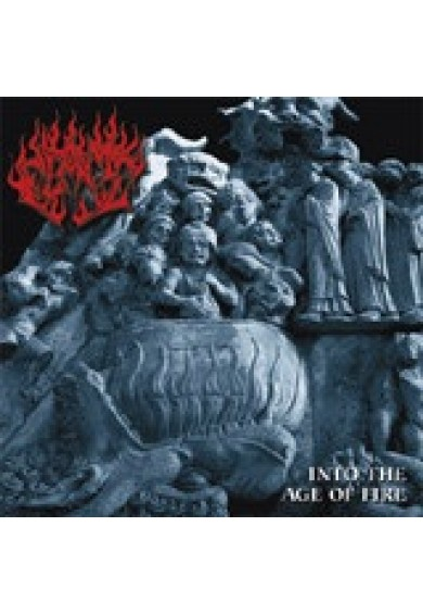 "FLAME ""Into the age of fire"" CD"