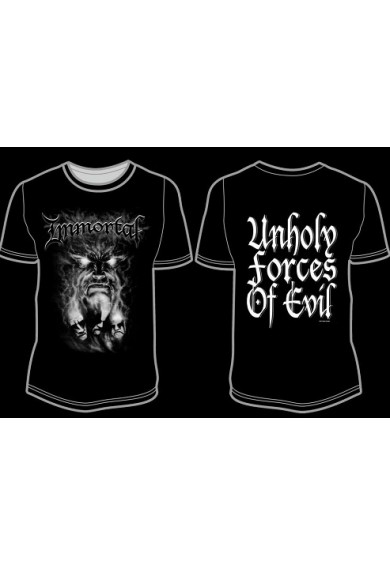 "IMMORTAL ""Unholy Forces Of Evil"" t-shirt XL"