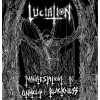 "LUCIATION ""manifestation in unholy blackness"" LP"