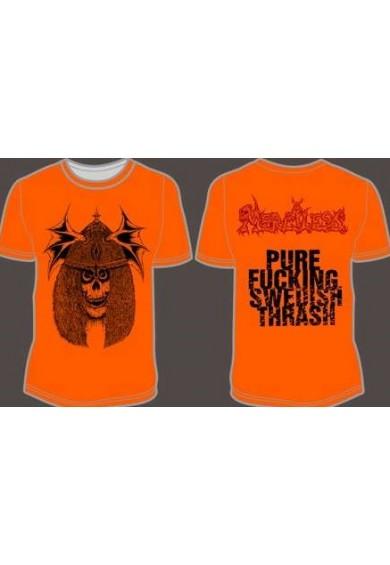 "MERCILESS ""Viking Skull"" t-shirt XL"