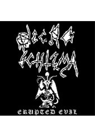 "NECRO SCHIZMA ""Erupted Evil"" cd"