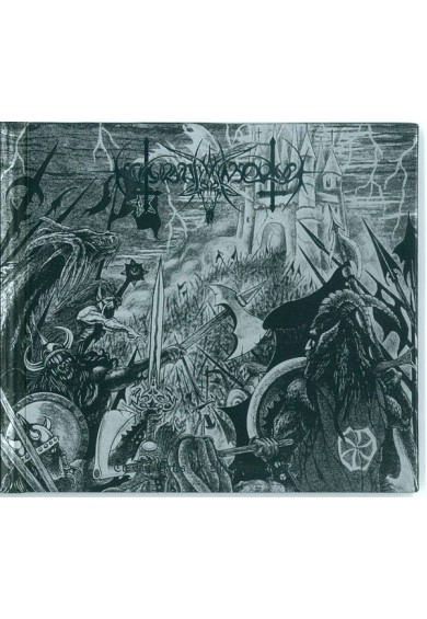 "Nokturnal Mortum ‎– To The Gates Of Blasphemous Fire"" cd"