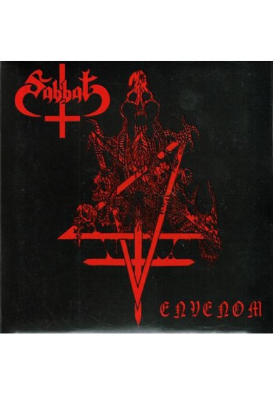 "SABBAT ""Envenom"" digipak CD"