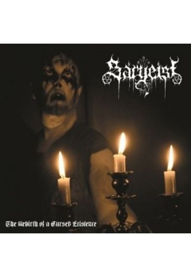 """SARGEIST """"The Rebirth Of A Cursed Existence"""" CD"""