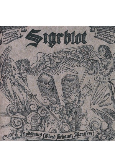 "SIGRBLOT ""blodsband (blood religion manifest)""-cd"