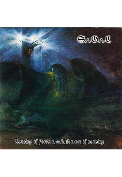 "Spear Of Longinus ‎""Nothing Is Forever, And, Forever Is Nothing"" CD"