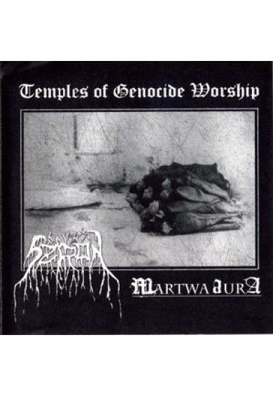 "SZRON / Martwa Aura  ""Temples Of Genocide Worship"" mCD"