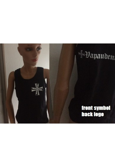 "VAPAUDENRISTI ""logo"" sleeveless-shirt XL"